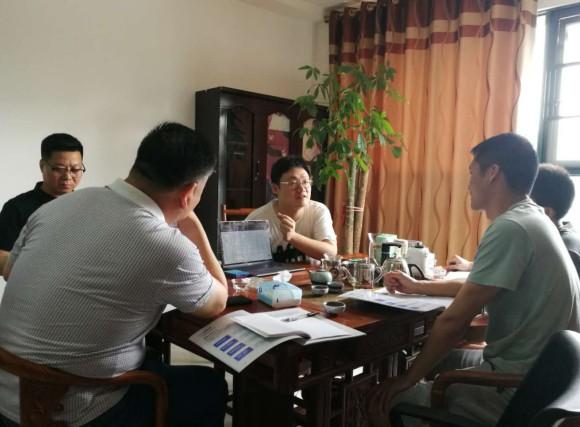 赣州市建设协会秘书处走访会员单位